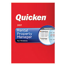 Quicken Rental Property Manager 2017 Traditional