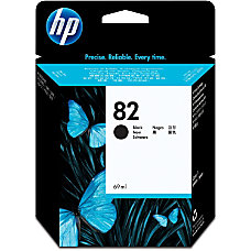 HP 82 Black Ink Cartridge Black