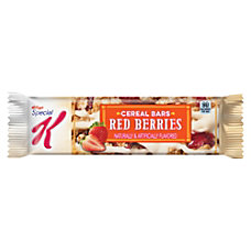 Special K Strawberry Cereal Bars 081