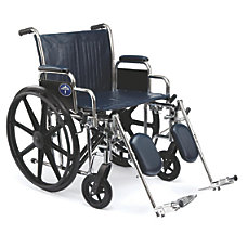 Medline Excel Extra Wide Wheelchair Elevating
