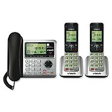 Vtech CS6649 2 2 Handset CordedCordless