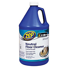 Zep Concentrated Neutral Floor Cleaner 128