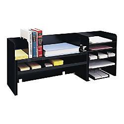 MMF Industries Raised Shelf Desk Organizer