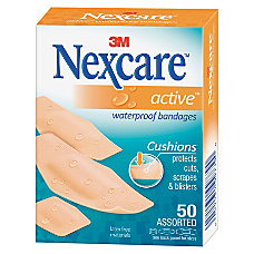 3M Nexcare Extra Cushion Active Bandages