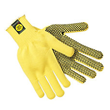 Memphis Glove Kevlar Gloves Small Yellow