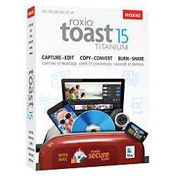 Roxio Toast Titanium 15 For Mac