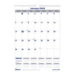 Blueline Net Zero Carbon Monthly Wall