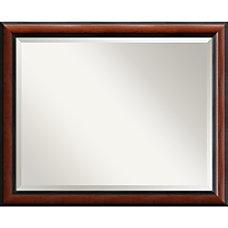 Amanti Art Regency Mahogany Wall Mirror