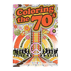 Bendon Adult Coloring Book 70s And
