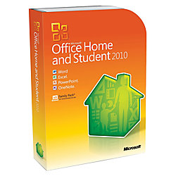 microsoft office home and student 2010 traditional disc by