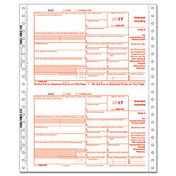 ComplyRight 1099 INT Continuous Tax Forms