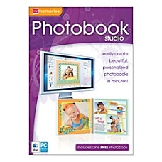 MyMemories Photobook Studio For PCMac Traditional