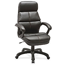 Lorell Luxury High back Leather Chair