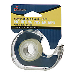 double sided removable tape 34 x 150 abilityone 7510 01 565 9541 by office depot officemax. Black Bedroom Furniture Sets. Home Design Ideas