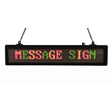 Royal Sovereign RSB 1410 Scrolling Message