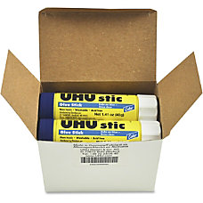 Saunders UHU Color Glue Stics 141
