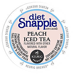 Snapple Diet Peach Iced Tea Peach