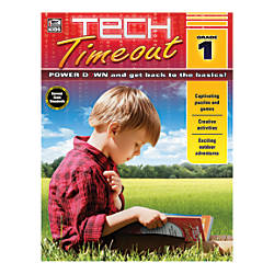 Thinking Kids Tech Timeout Activity Book