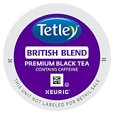 Tetley British Blend Black Tea Black