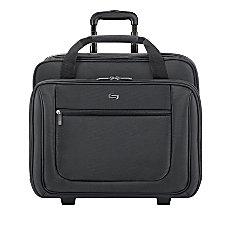 Solo Rolling Laptop Portfolio Black