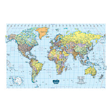 House of Doolittle Laminated World Map