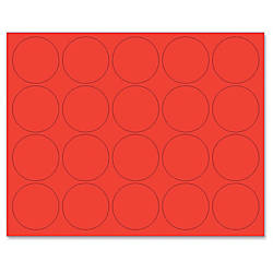 MasterVision Magnetic Color Coding Dots 075