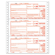 ComplyRight 1099 S Continuous Tax Forms