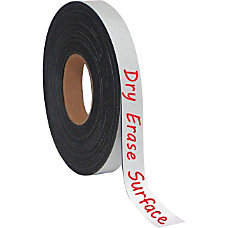 MasterVision Magnetic 1 x4 Adhesive Roll