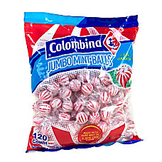 Colombina Jumbo Mint Balls Peppermint Approximately