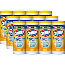 Clorox Disinfecting Wipes Lemon Fresh 35