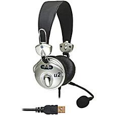 CAD Audio USB Stereo Headphones with