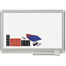 MasterVision Pure White Dry erase Planning