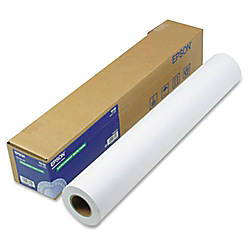 Epson Coated Double Weight Paper Roll