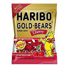 Haribo Cherry Gold Bears 4 Oz