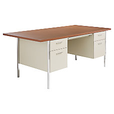 Alera Double Pedestal Desk 29 12