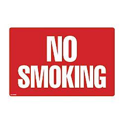 COSCO 2 sided No Smoking Sign