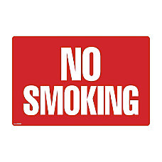 COSCO 2 sided No Smoking Sign
