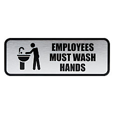 COSCO Brushed Metal Employees Must Wash