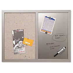 MasterVision MV FabricDry erase Bulletin Board