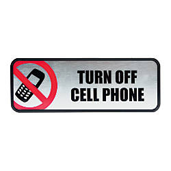 COSCO Turn Off Cell Phone ImageMessage