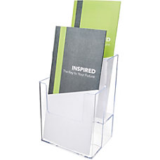deflecto 2 tier Desktop Literature Holder