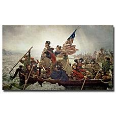 Trademark Global Washington Crossing Delaware River