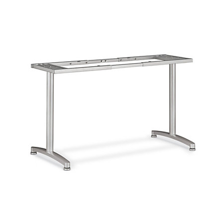 Basyx by hon fixed height table base with adjustable for Table th fixed width