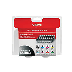 Canon CLI 8 Inkjet Cartridges Black