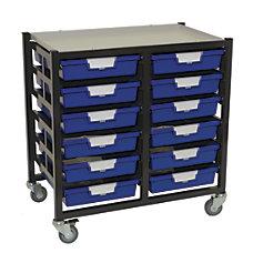 Storsystem Standard Width Mobile Metal Storage