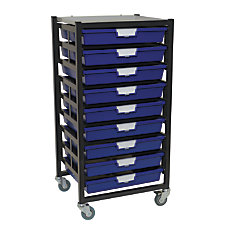 Storsystem Extra Wide Mobile Metal Rack