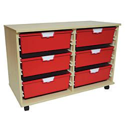 Storsystem Extra Wide Wood Storage Cabinet
