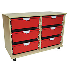 Storsystem Extra Wide Wood Storage Cabinet