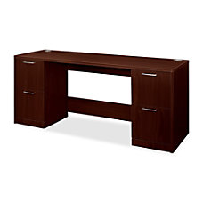 HON Attune Double Pedestal Credenza FileFile