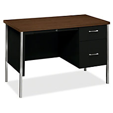 HON 34002R Right Pedestal Desk Rectangle